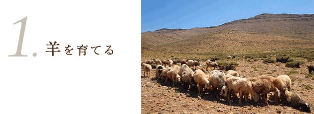 1 羊を育てる