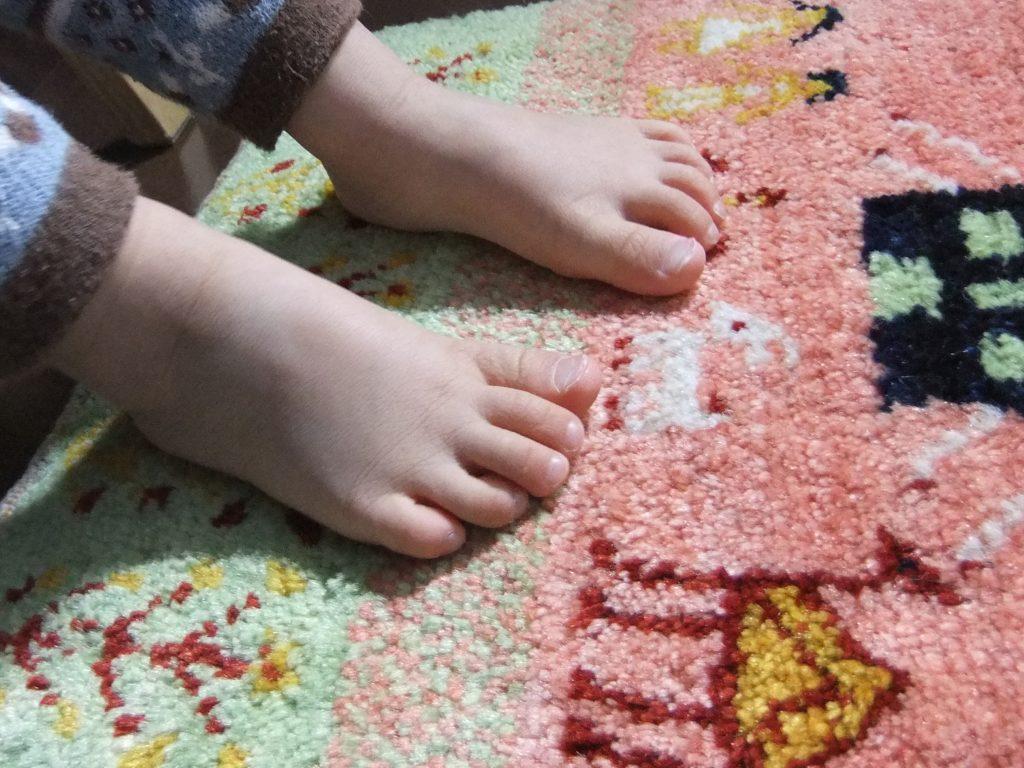 ウールのじゅうたんで1年中快適に。