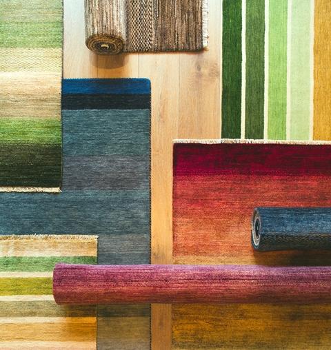 ハグみじゅうたん、約80種のデザインをご体感ください