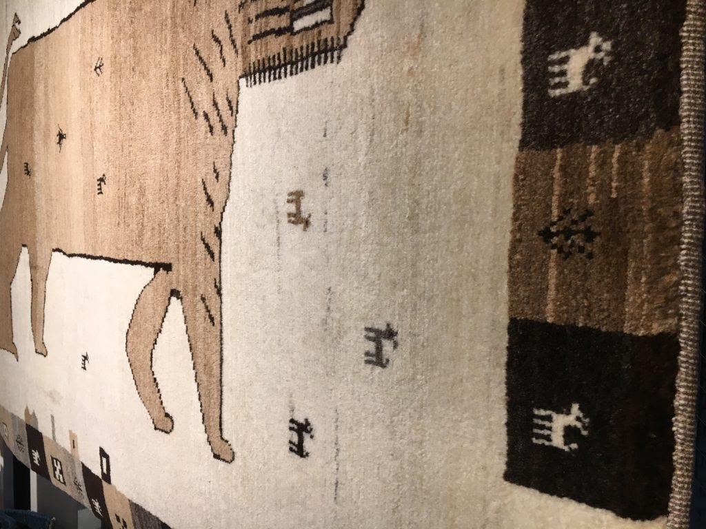 どうしてウールのじゅうたんは良いのか?②