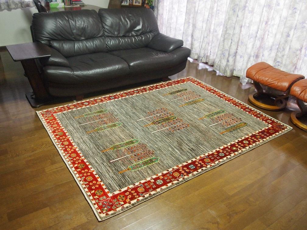 【アートギャッベ】 上質な絨毯をお届けいたしました