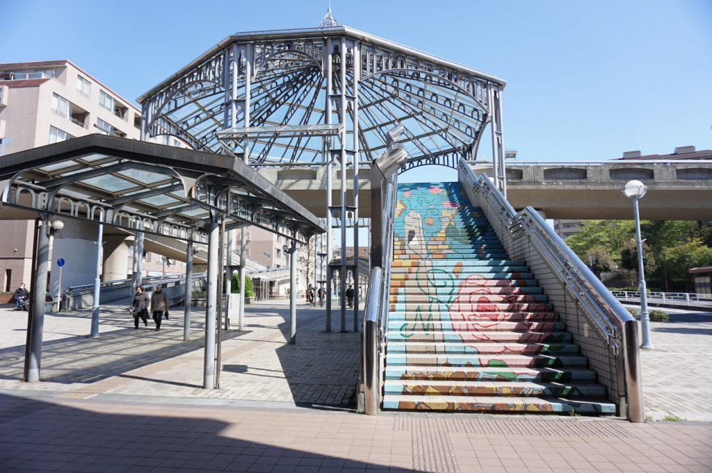 中川駅からボーデコール横浜店へ