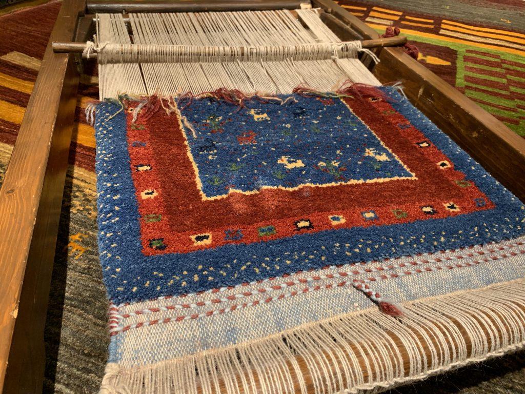 織り機の写真