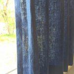 青を楽しむカーテン