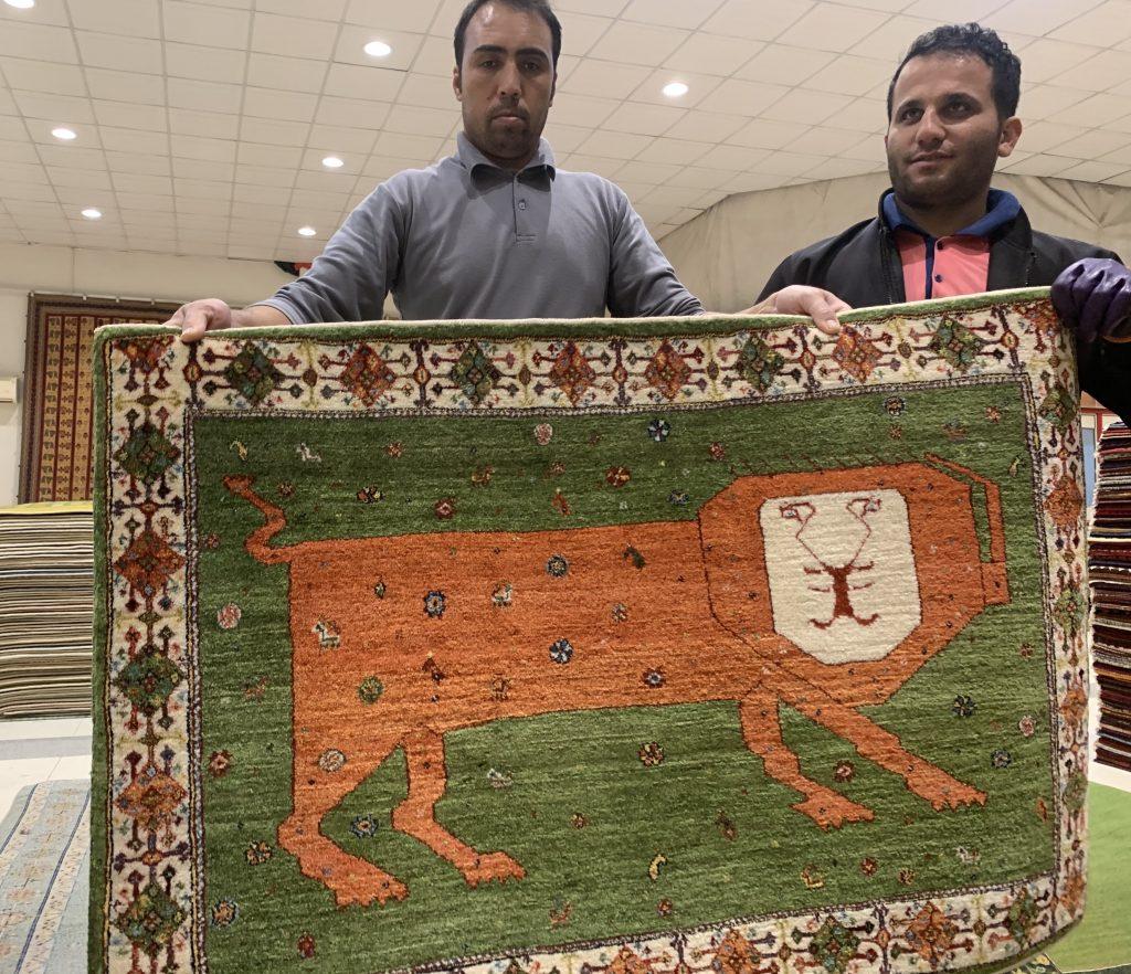ライオンギャッベとイラン人