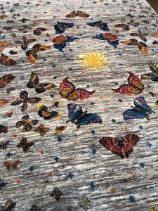 アートギャッベ蝶々