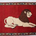 強さの象徴ライオンギャッベ